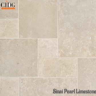 sinai pearl | sandblasted limestone