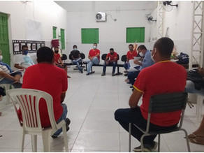 Reunião: Prefeitura Municipal de Itiúba e Lar Santa Maria