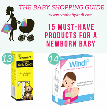 Windi gas and colic relief