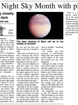 October Boerne Star Article.png