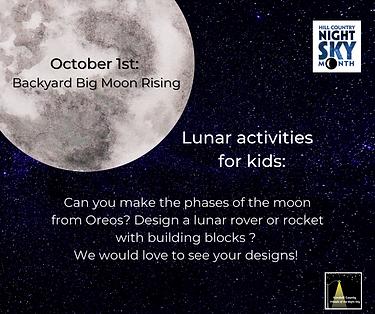 October 1st_ Backyard Big Moon Rising He