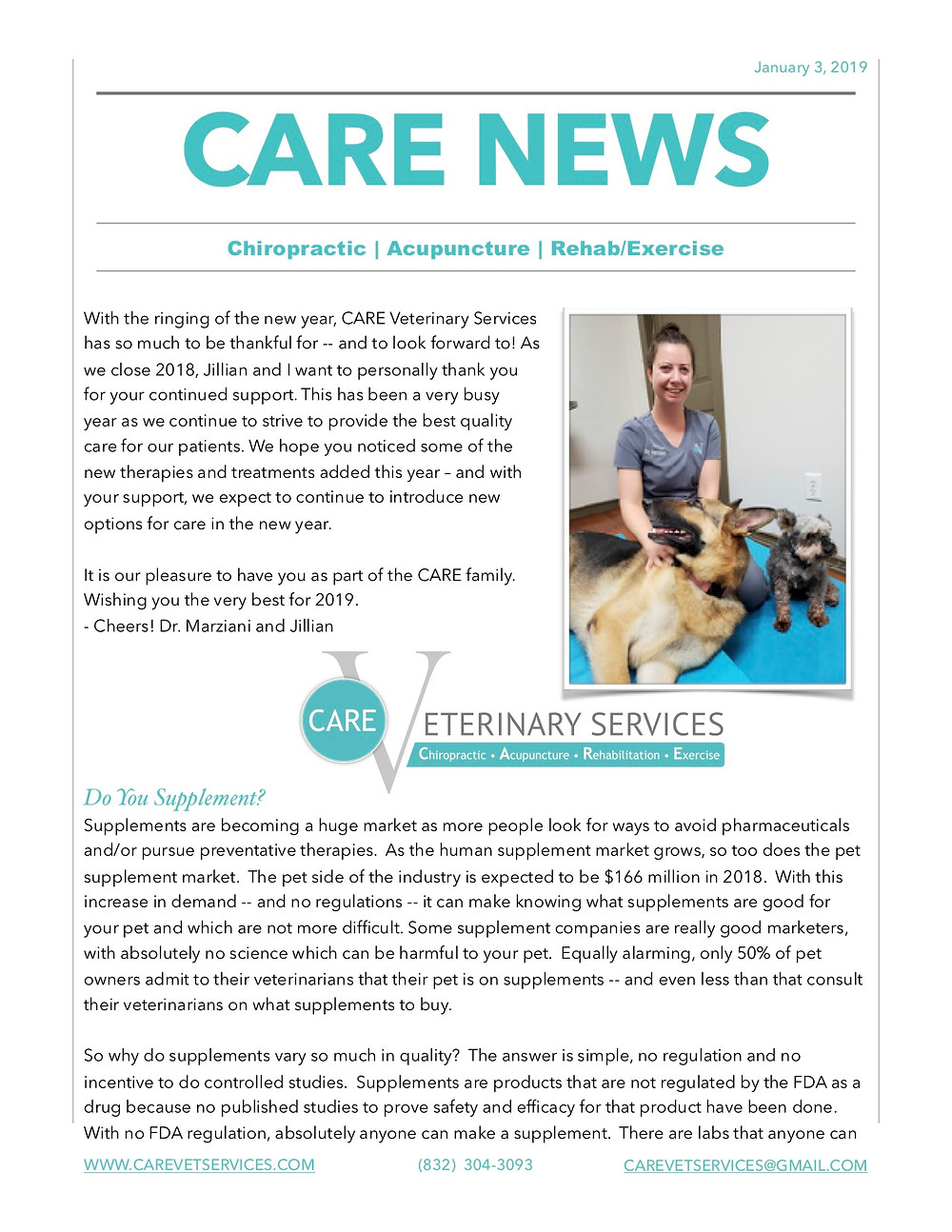 CARE VETERINARY REHAB, CANINE REHAB, CANINE CHIROPRACTIC, CANINE ACUPUNCTURE