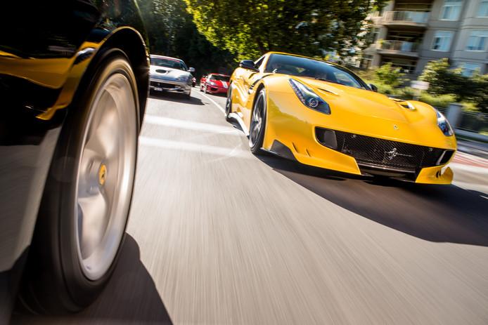 Zagame Ferrari Lygon St Festival