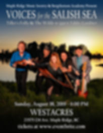 Voices for the Salish Sea at Westacres W
