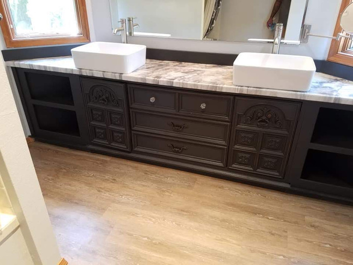 Bathroom Counter After