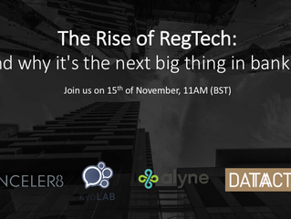 The Rise of RegTech: Why it's the next big thing in banking?