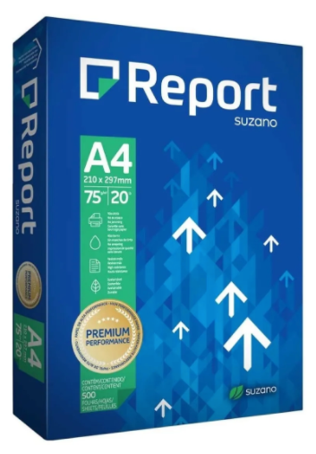 Papel Sulfite A4 500 Folhas Report Premium P. Branco 75g