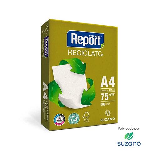 Papel Sulfite Reciclato A4 500 Folhas 75g