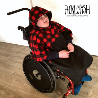 Wheelchair Capes - Fleece or Waterproof