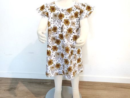 Sew a Free Butterfly Sleeve Top or Dress