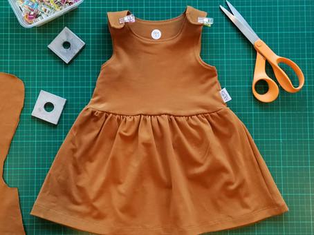 The OTY Toddler Pinafore - The Basic Dress