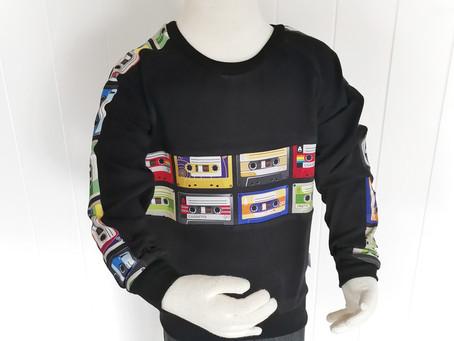Colour Block Retro Sweater Tutorial