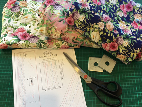 Making a Free Baby Outfit for Summer using OTY Fabric