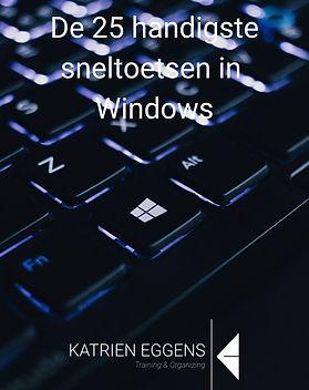 De 25 handigste sneltoetsen in Windows_e