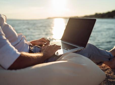 Vergeet je werk tijdens jouw vakantie