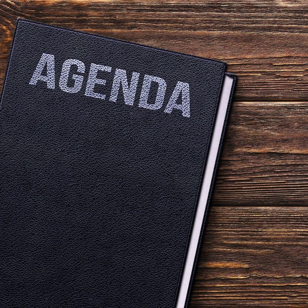 Machtigingen agenda instellen