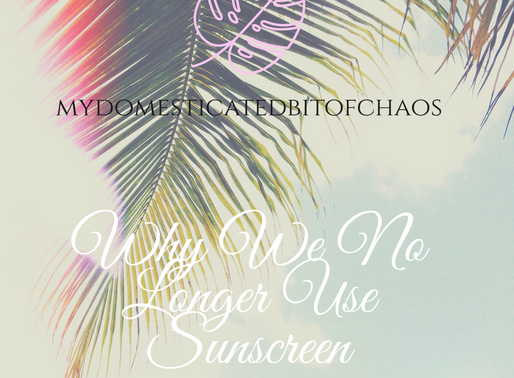 Why We No Longer Use Sunscreen