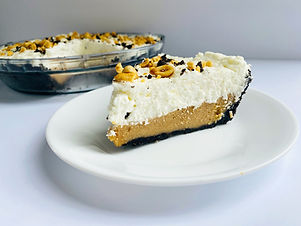 Keto/Low Carb Peanut Butter Pie