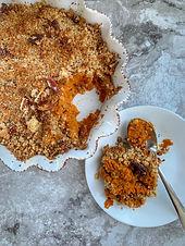 Pumpkin Casserole (Sweet Potato Mock)