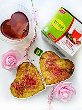 Keto/LowCarb Red Berry Tea Infused Blondies