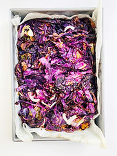 Roasted Red Cabbage with Onions & Jalapenos