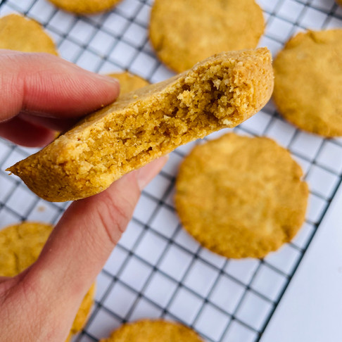 Easy, Chewy, and Delicious  Peanut Butter Cookies- Keto, LowCarb, Gluten Free