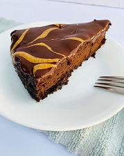 Flourless Peanut Butter Chocolate Cake