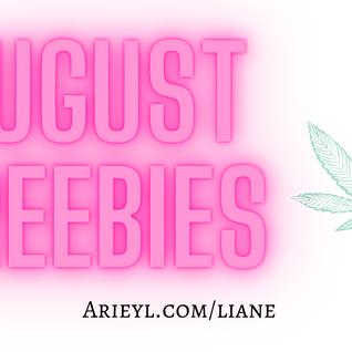 August Freebies!