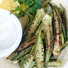 Blistered Okra