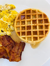 """Dairy Free Low Carb Sweet """"Chaffles"""""""