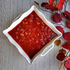 Faux Cranberry Sauce