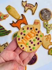 LowCarb Halloween Inspired Sugar(Free) Cookies
