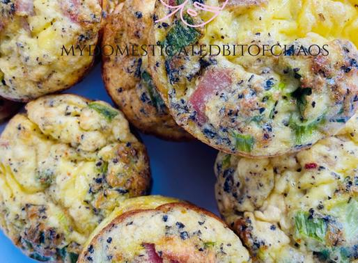 Easy Meal Prep Egg Muffins- Keto/LowCarb