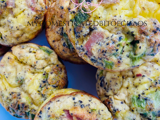 Easy Meal Prep Egg Muffins- Keto/LowCarb