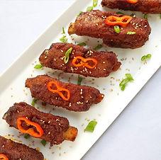 Sweet N Spicy Pork Spareribs (LowCarb)