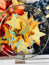 "Easy Homemade ""Graham"" Crackers (Keto, LowCarb, DairyFree)"