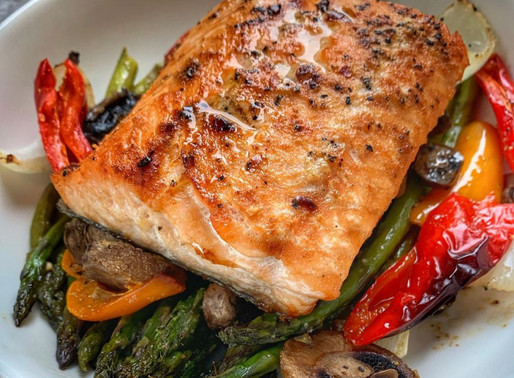 Tequila Peppered Salmon