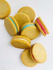 Keto Cream Sandwich Cookies