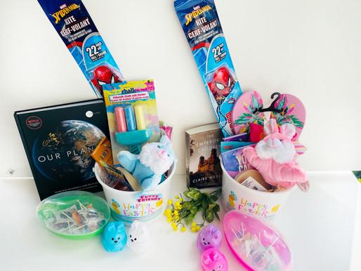 Healthy Easter Basket Ideas- Teens & Toddlers