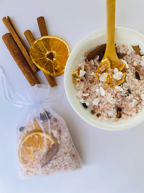 Energy Cleansing Citrus & Cinnamon Bath Soak Mix