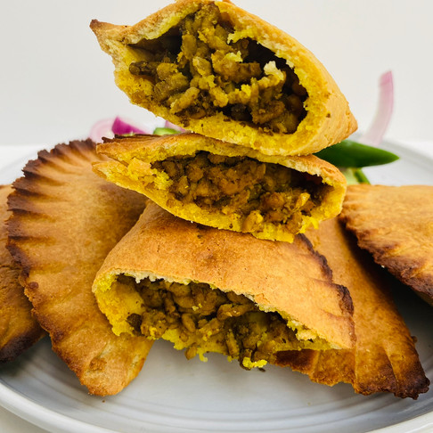 Jamaican Style Beef Patties- Keto/Low Carb/ Gluten Free