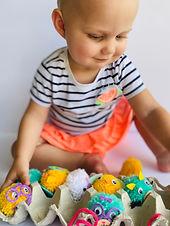 Kids Crafts- Make your own Hatchimals
