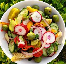 Marinated Mediterranean Vegetable Salad