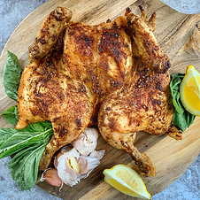 Spatchcock Whole Chicken