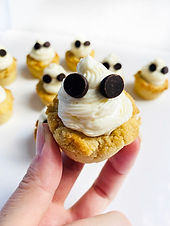 Ghost Cheesecake Dessert Cups (Low Carb/Sugar Free/Gluten Free)
