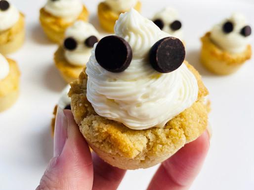Ghost Cheesecake Dessert Cups