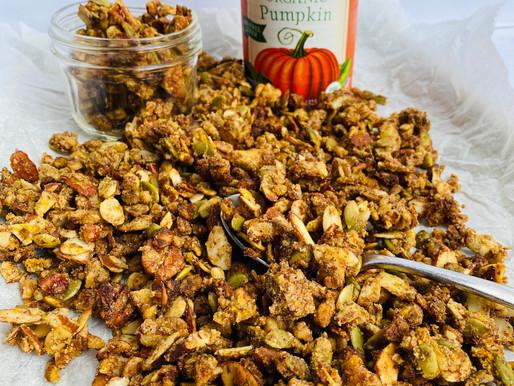 Pumpkin Spice Keto/LowCarb Granola