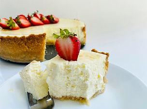 Keto New York Style Classic Cheesecake
