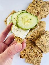 Keto/Low Carb Crackers/Crisp Bread