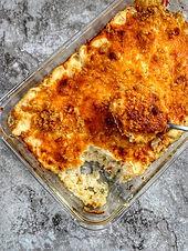 Cauliflower Mac N Cheese (Keto, Low Carb)